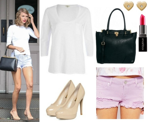 Taylor Swift's look for less