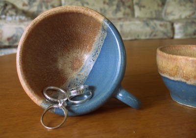 teacup and rings
