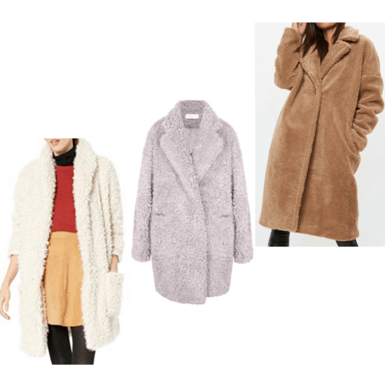 College Fashion Winter Capsule Wardrobe Sweaterdress - Amazon, Wolf & Badger, missguided