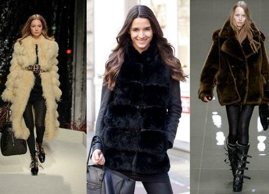 Teddy fur coats trend