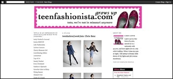 Teen Fashionista