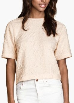 H&M textured top