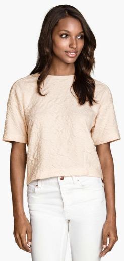 H&M textured top