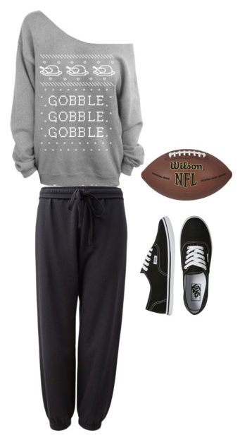 Thanksgiving flag football outfit