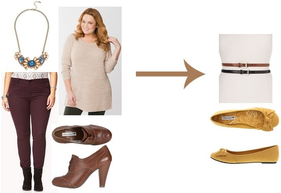 Thanksgiving to Black Friday plus size outfit 1