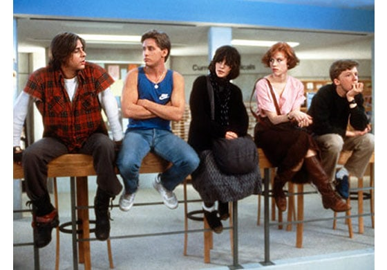 The breakfast club - best back to school movies of all time