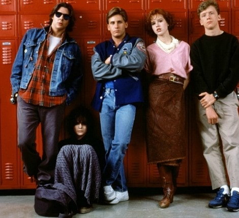 The breakfast club fashion