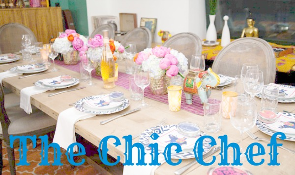 The Chic Chef header