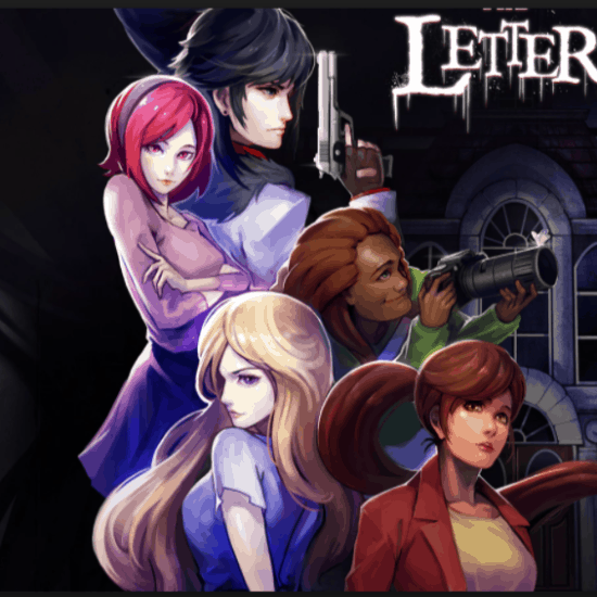 The Letter video game banner