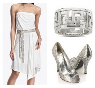 Outfit inspired by the muses from Disney's Hercules