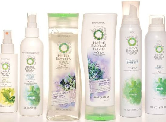 The naked collection for herbal essences