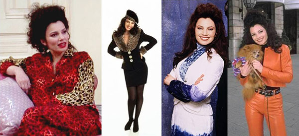 Fashion from the TV show The Nanny