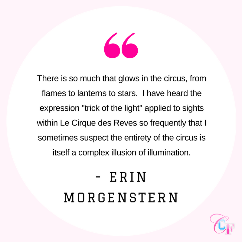 Erin Morgenstern The Night Circus quote