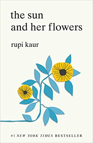 The Sun and Her Flowers by Rupi Kaur book cover