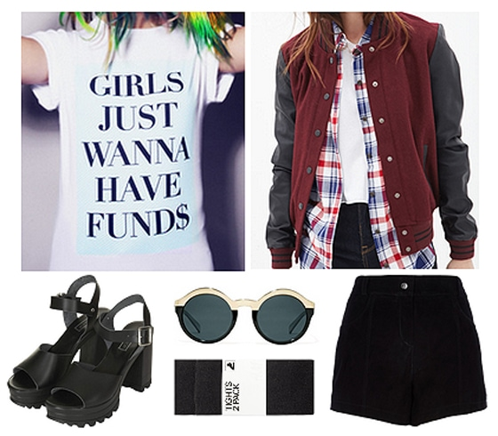 The Teen Idle outfit