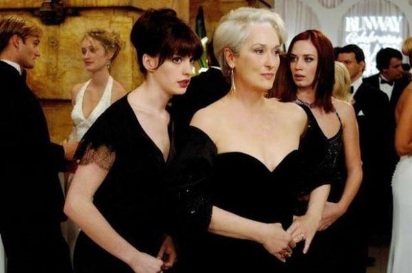 scene from The Devil Wears Prada