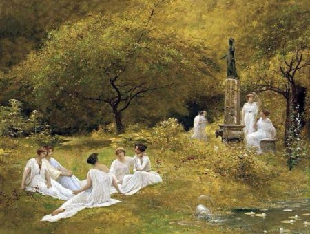 the muses' garden