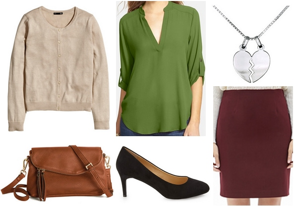 Pretty One Green Top Outfit