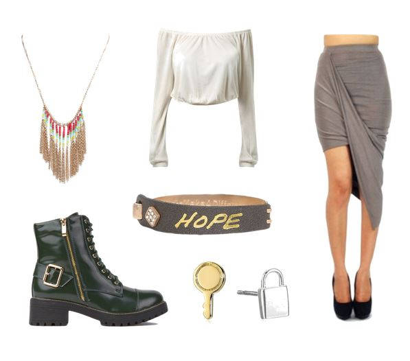 the five wives outfit