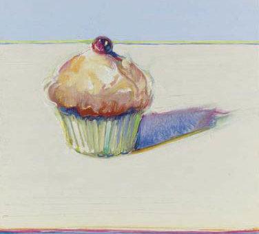 Thiebaud wayne cupcake