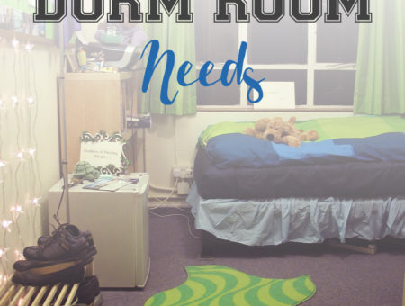 5 Things Every Dorm Room Needs