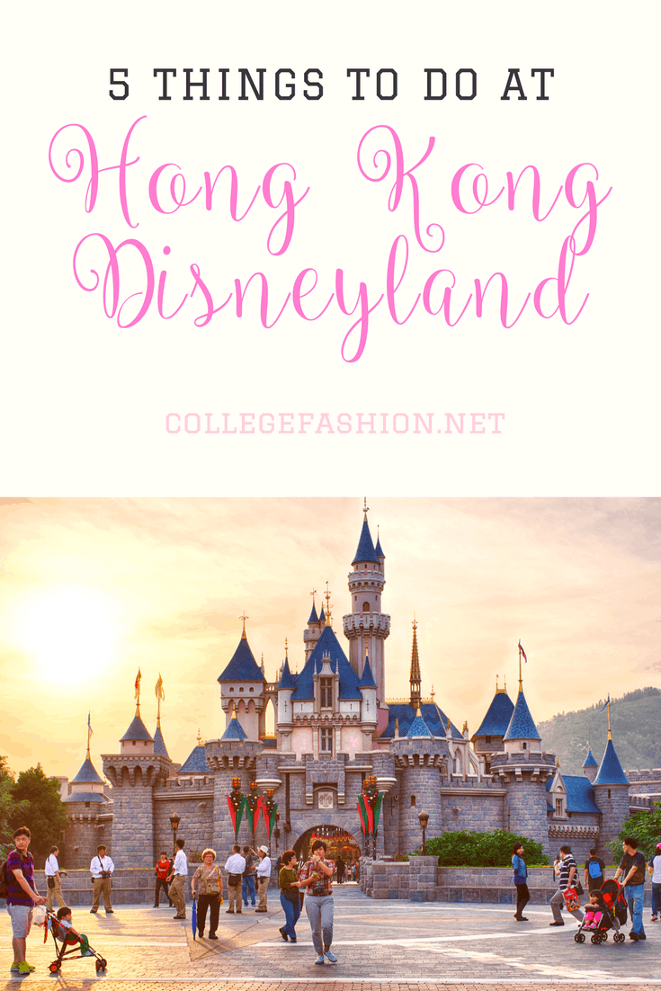 5 things you need to do at Hong Kong Disneyland