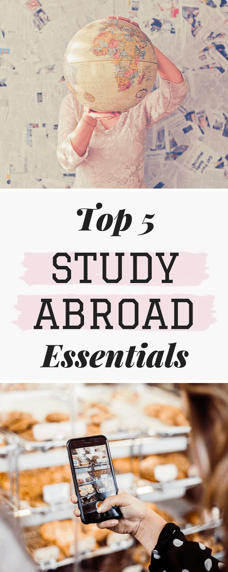 Don't leave home without these 5 things to pack for study abroad! These essentials will make or break your trip.