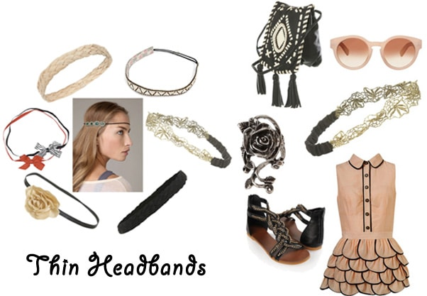 thin headbands