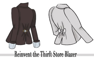 How to reinvent the thrift store blazer