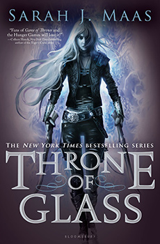 Throne of Glass by Sarah J. Maas - book cover