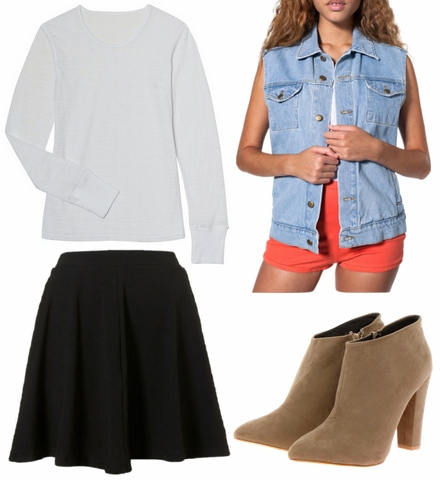 Tibi spring 2013 inspired outfit 1