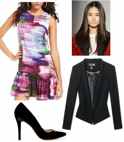 Tibi spring 2013 inspired outfit 2