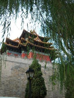 A building in Tiananmen Square