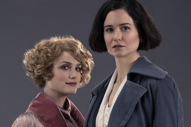 Tina and Queenie from Fantastic Beasts and Where to Find Them