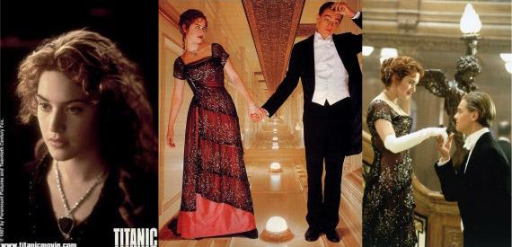 Titanic movie stills