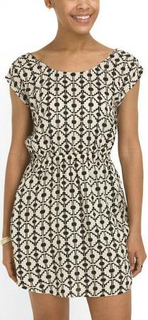 TJ Maxx geometric print dress