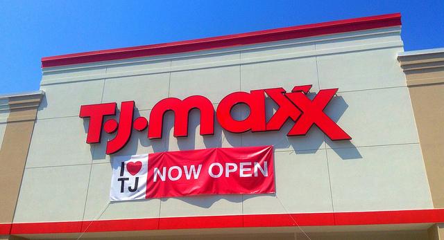 TJMaxx store front