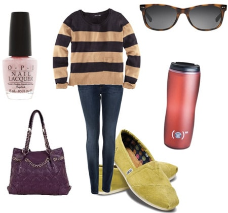 Outfit inspired by TOMS Shoes