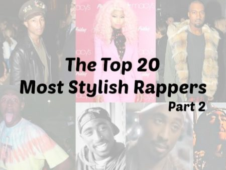 Top 20 most stylish rappers part 2