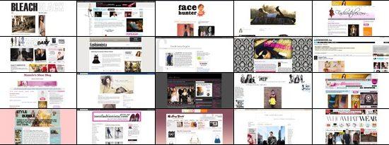 Top 20 Fashion Blogs