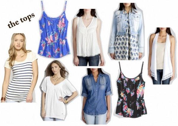 Zara May 2010 - Tops