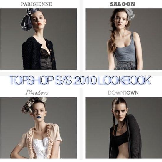 Topshop Spring 2010 Lookbook