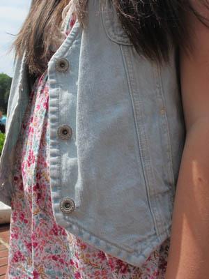 Fashion at Elon University: Denim vest