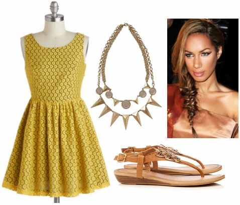 Tory burch inspired outfit 1