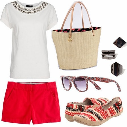 Tory burch inspired outfit 2