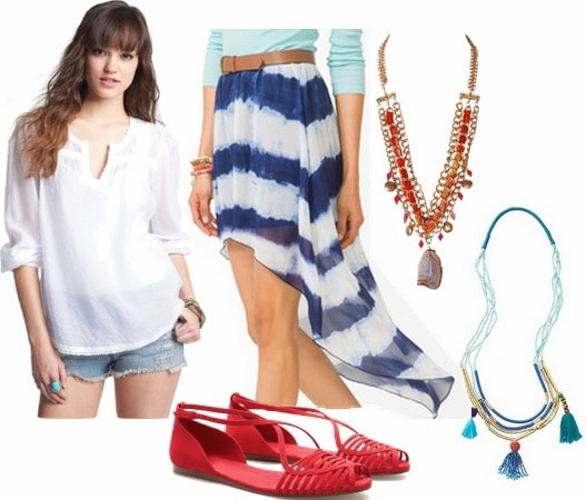 Tory burch inspired outfit 3