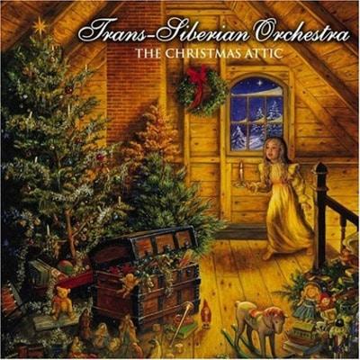 Trans Siberian Orchestra The Christmas Attic album cover