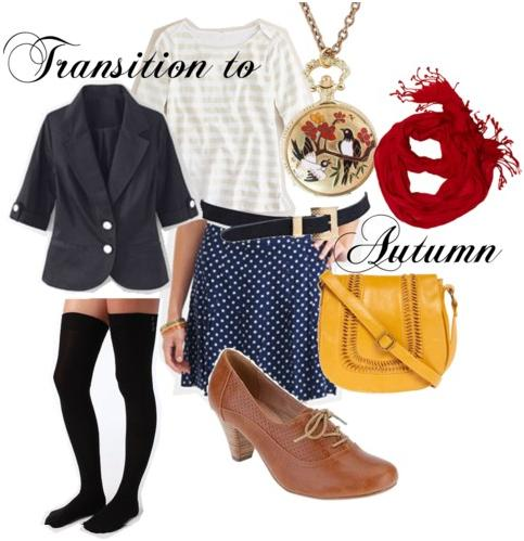 Autumn transition outfit