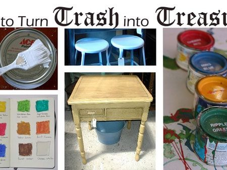 Dorm room decorating: how to turn trash into treasure