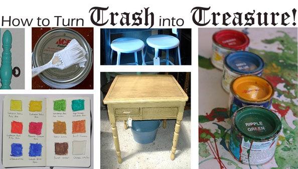Dorm room decorating: how to turn trash into treasure